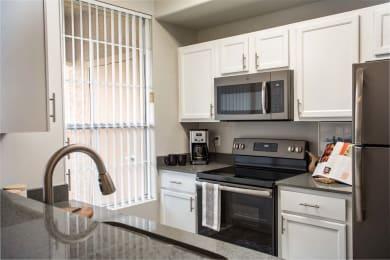 Efficient Appliances In Kitchen at Biscayne Bay Apartments, Chandler, AZ