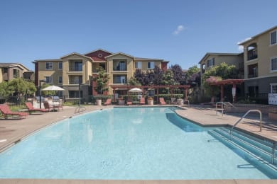 Outdoor Swimming Pool at Sterling Village Apartment Homes, Vallejo, CA
