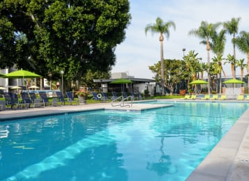 Shimmering Swimming Pool at Madison Park Apartment Homes, Anaheim, 92804