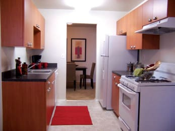 spacious kitchen at Oakfield Apartment Homes in Wheaton, MD