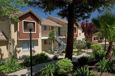 exterior at Belmont Apartment Homes in Pittsburg, CA