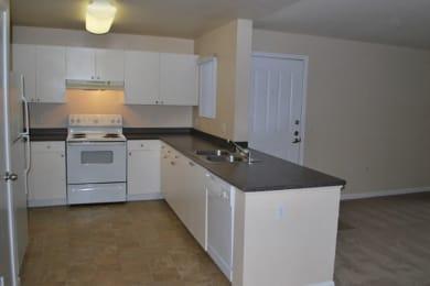 kitchen at Bristol Apartment Homes in Dixon, CA