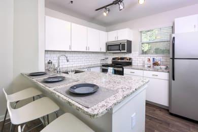 Open Kitchen Floor Plan at Verdant Apartment Homes, Colorado