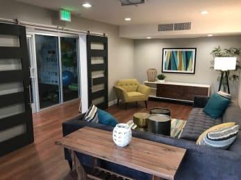 Community Center Seating Los Angeles CA 91423 | Addison Apartments Rentals