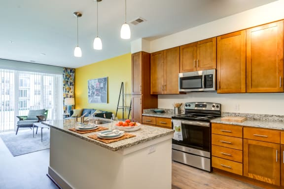 Fully Equipped Kitchen at Avenue Grand, White Marsh, MD
