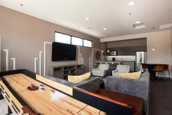Resident Clubhouse Shuffleboard at Heritage Pointe, Gilbert, 85233