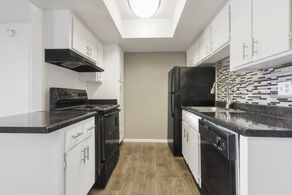 Kitchen (2) at Avenue 8 Apartments in Mesa AZ Nov 2020