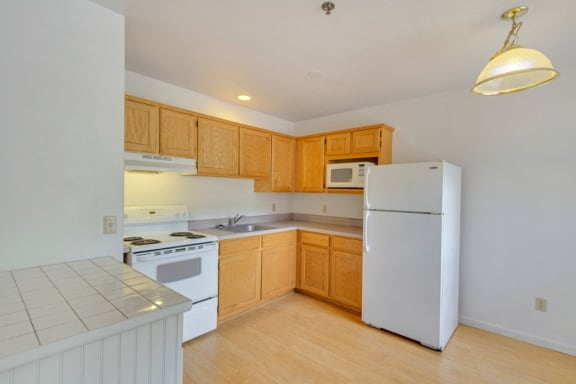 Kitchen at Hillside Creek Apartments in Prescott, AZ