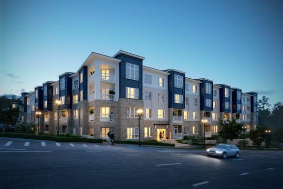 Rendering of community exterior
