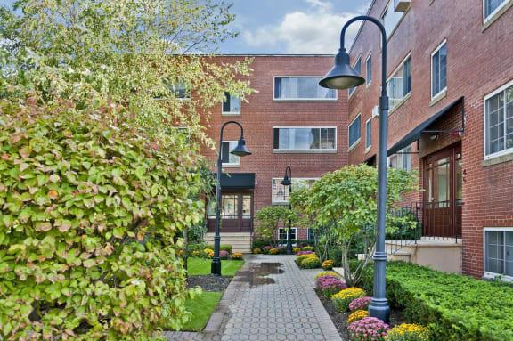 Beautiful Path at Green Street, Brookline, 02446