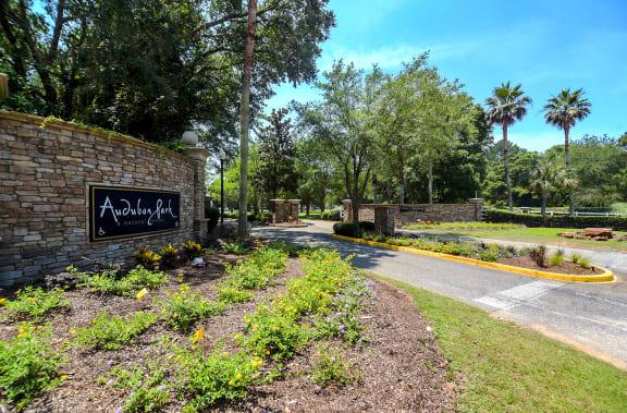 Audubon Park Apartments Entry