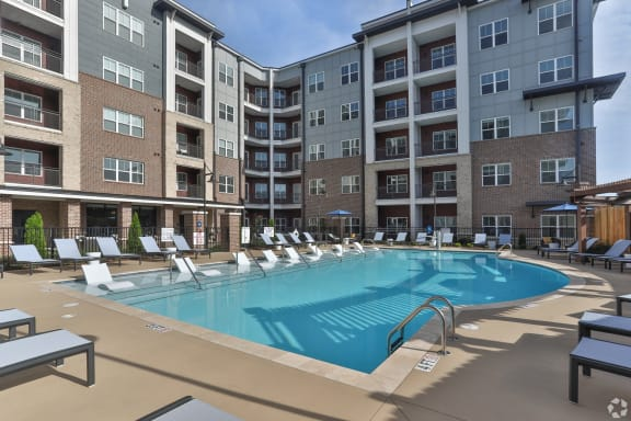 Sparkling Swimming Pool  at NorthPointe, Greenville, 29601
