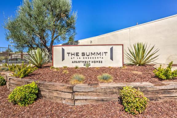 The Summit signage
