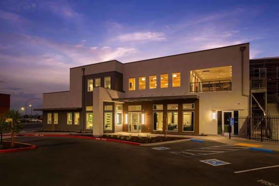Exterior view of building at ALLURE AT 2920, Modesto, California