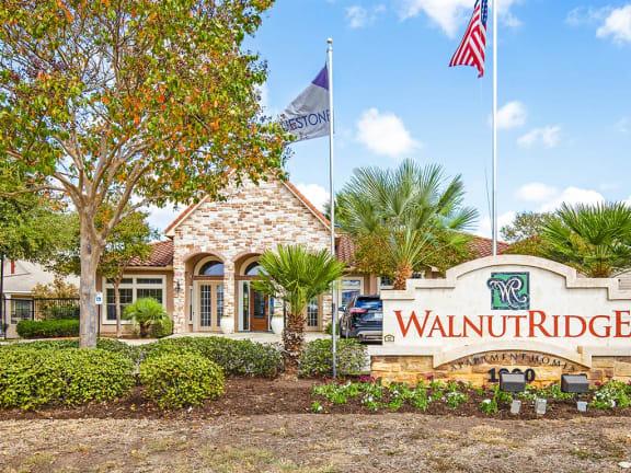 Property Signage at Walnut Ridge, Bastrop, Texas