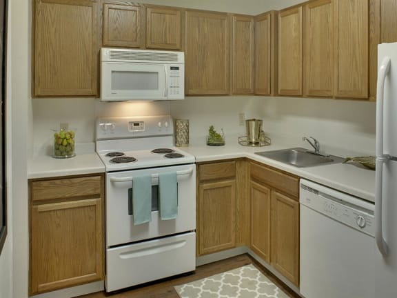 Willow Pond Apartments in Burnsville, MN Kitchen