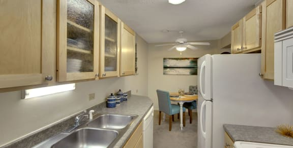 Park Towers Apartments in St. Louis Park, MN Kitchen