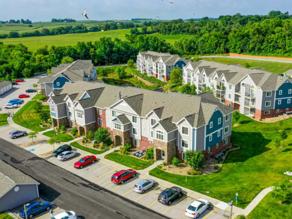 Top View at Colonial Pointe at Fairview Apartments, Bellevue, NE