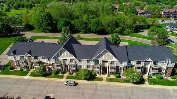 Aerial View Of The Property at Concord Place Apartments, Kalamazoo