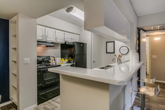 Mission Springs Apartments Kitchen and Countertop