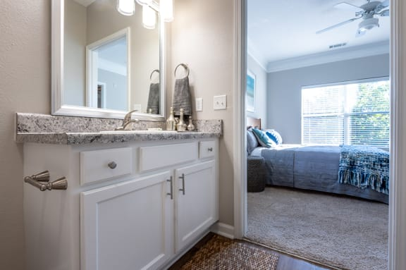 Carrington at Perimeter Park Apartment Bathroom