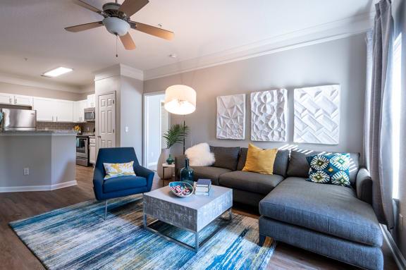 Carrington at Perimeter Park Apartment Living Room
