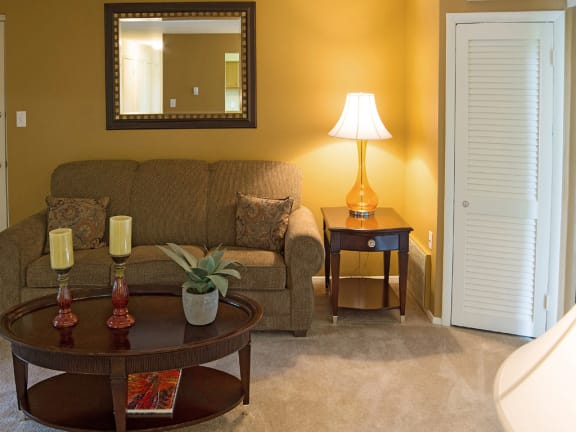 Security Park Apartments  living room
