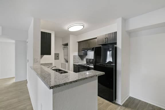 Kitchen at Brenton at Abbey Park in West Palm Beach
