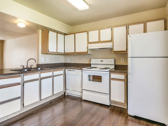 Kitchen at Paradise Oaks Austin TX