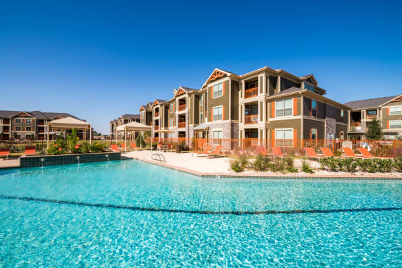 Olympic Size Swimming Pool at Faudree Ranch, Texas 79765