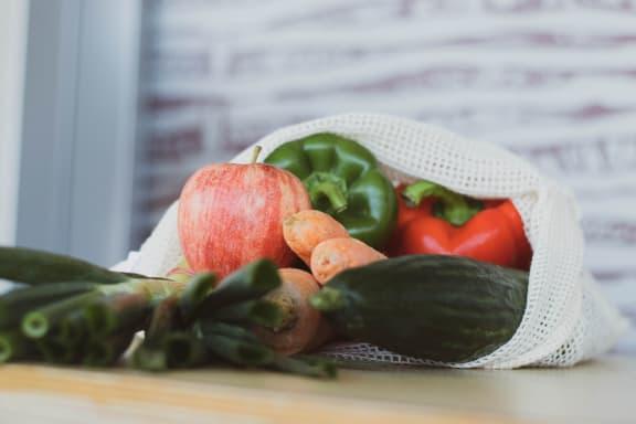 Fresh Market Produce at Rancho Franciscan Senior Apartments, Santa Barbara, CA, 93105