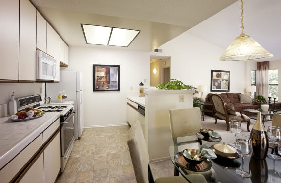 Spacious Interior at Cypress Point Apartments, California