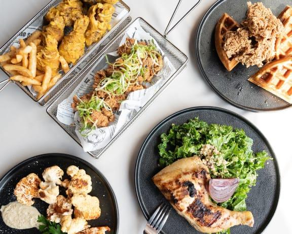 Eat Fresh Local at Cypress Point Apartments, California