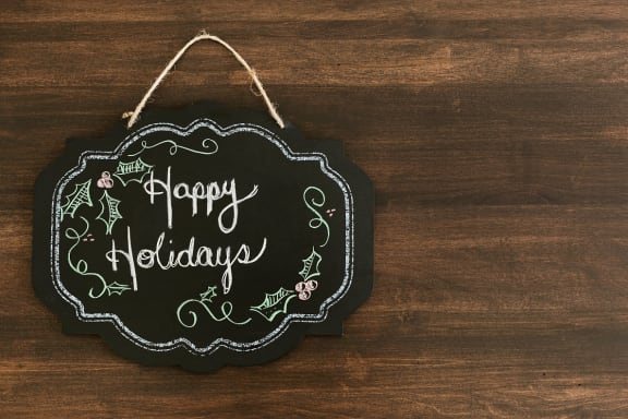 Happy Holidays at Ralston Courtyards, Ventura, CA, 93003