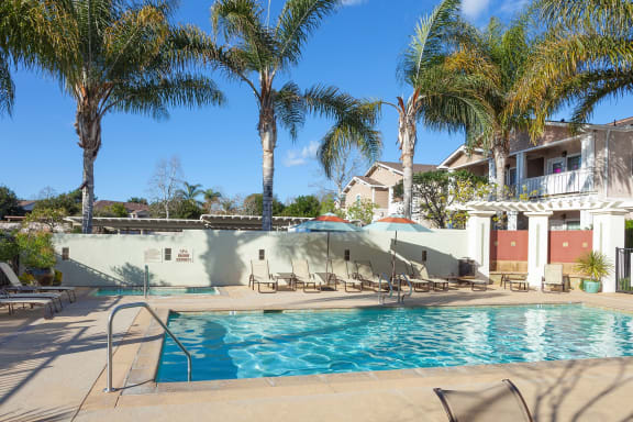 Pool at Ralston Courtyards, California, 93003