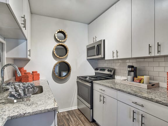 Built-in Microwaves at The Brookwood Apartment Homes, Homewood, AL, 35209