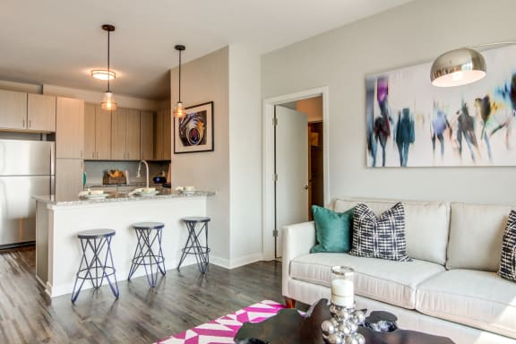 model_apartment at Spoke Apartments, Atlanta, GA, 30307