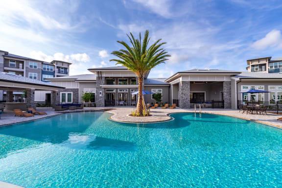 Glimmering Pool at Tomoka Pointe, Daytona Beach, FL, 32117