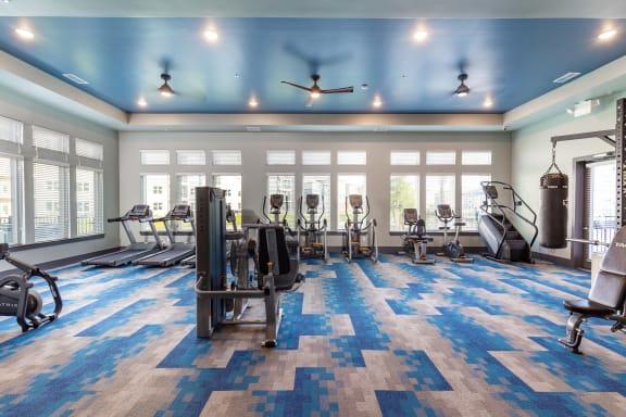 Modern Fitness Center at Tomoka Pointe, Daytona Beach, FL