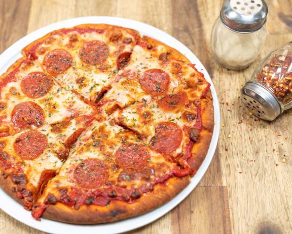 Pizza at Tomoka Pointe, Florida