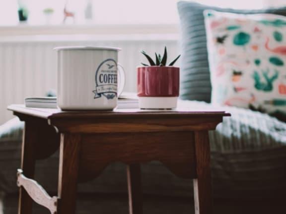 Coffee Mug at Arbor Lakes Apartments, Indiana