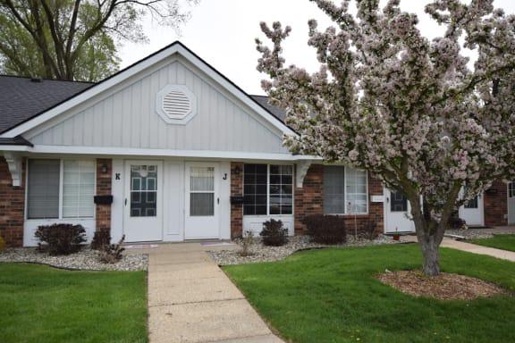Front View of Property at Newport Village Apartments, Michigan, 49002