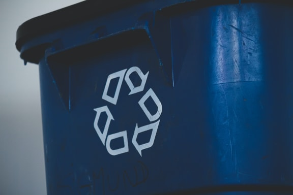 Recycle_Bin at Sumida Gardens Apartments, California