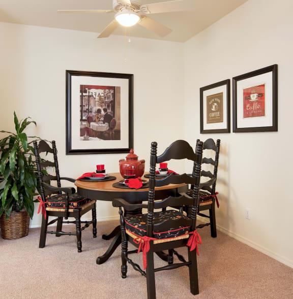 dining_area at Sumida Gardens Apartments, Santa Barbara, CA