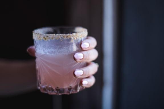 pink_drink at Sumida Gardens Apartments, Santa Barbara, California
