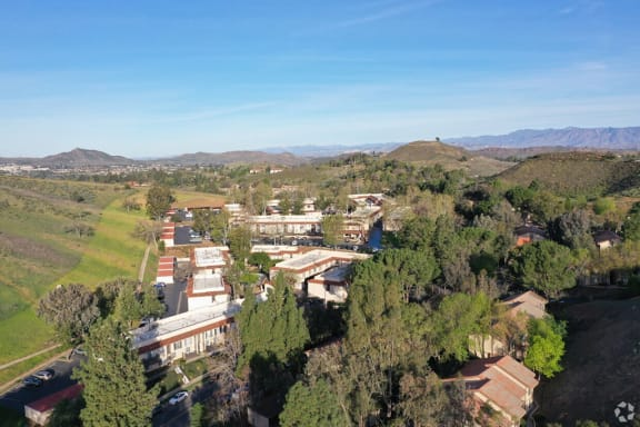 Aerial View Community at Charter Oaks Apartments, Thousand Oaks, CA
