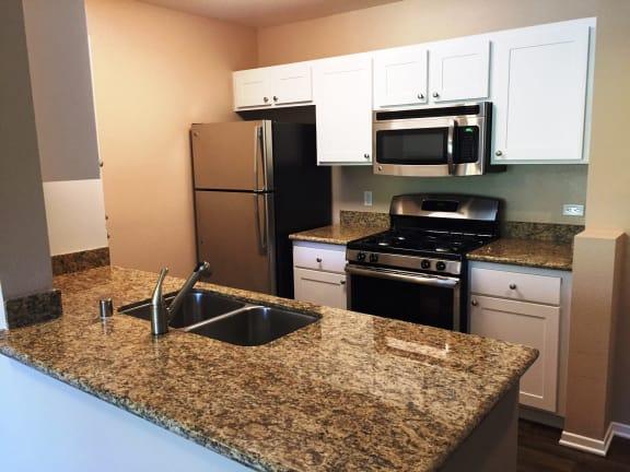 Modern Kitchen at 55+ FountainGlen Terra Vista, Rancho Cucamonga, CA, 91730