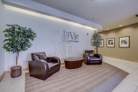 LaVie at Queen Anne Seattle, WA lobby
