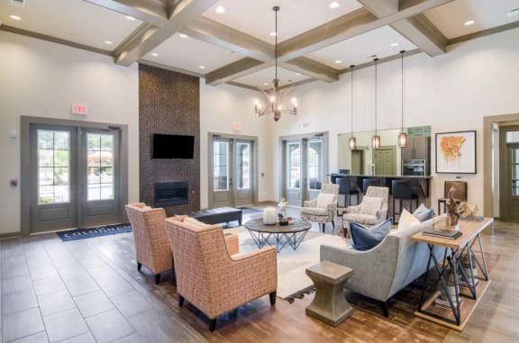 Elegant Clubhouse at Colonnade at Eastern Shore Apartment Homes, Daphne, AL, 36526