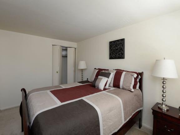 Yorktowne Townhome Master Bedroom